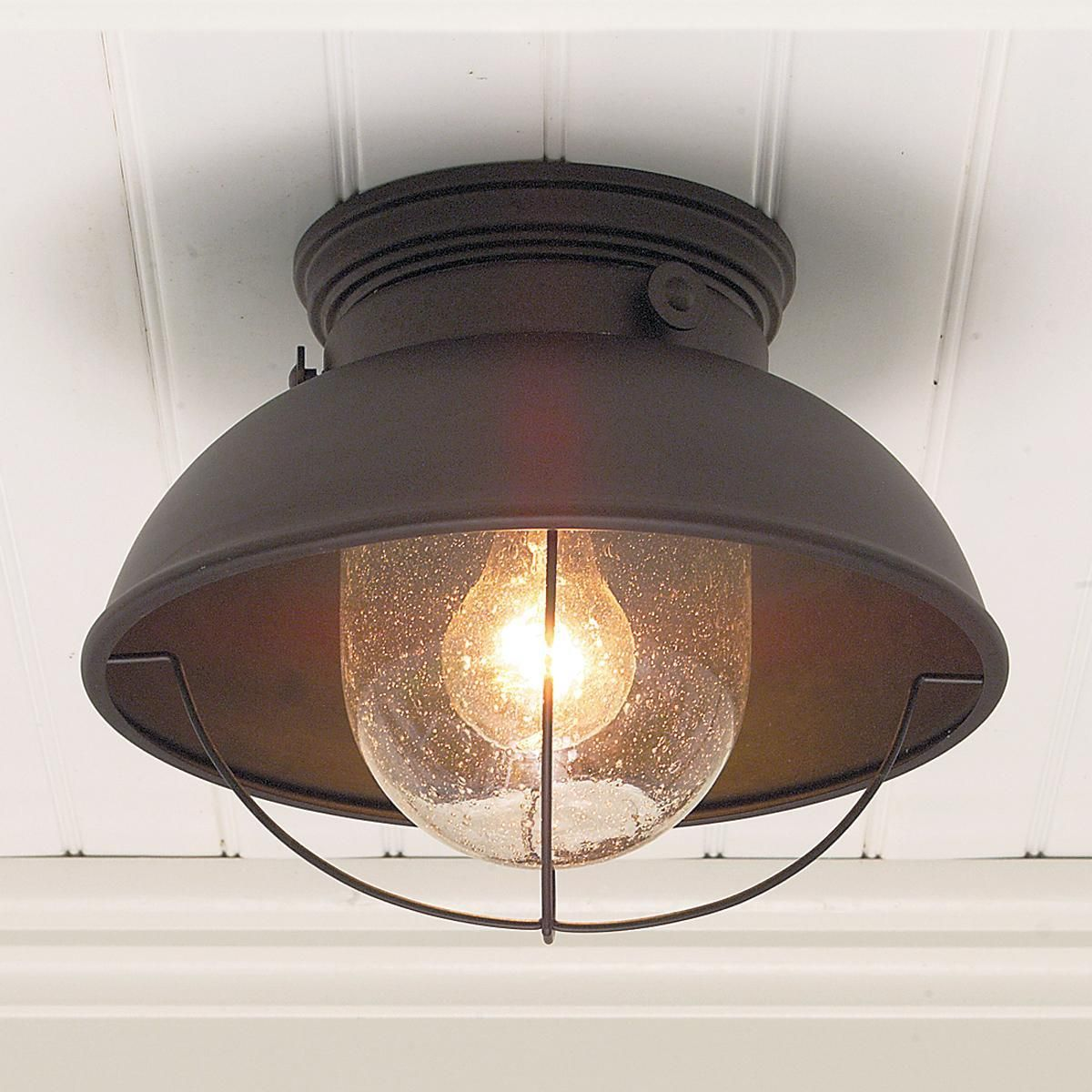 Outdoor ceiling lamp colors