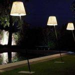 Outdoor lighting furnishings
