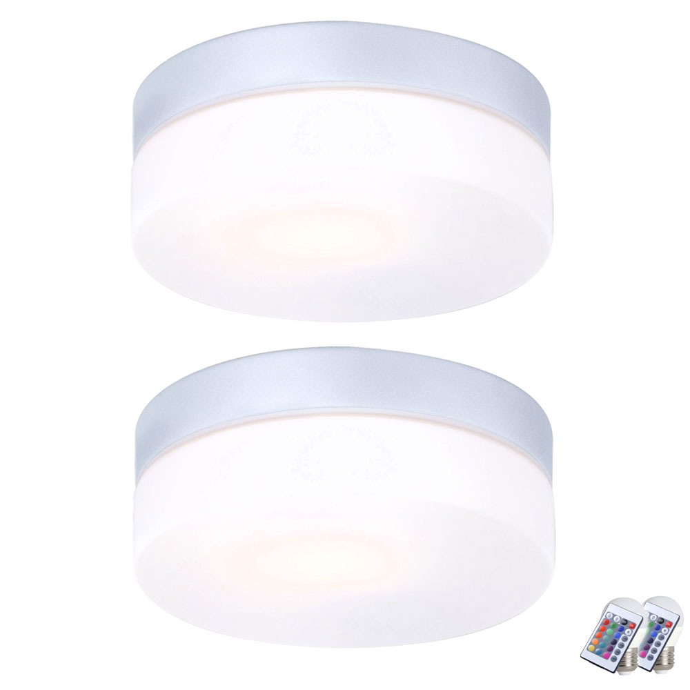 Outside safety system for ceiling luminaires