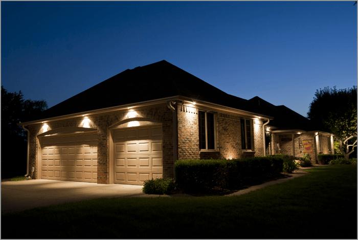 Recessed outdoor lighting