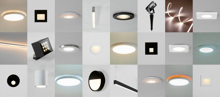 Reliable lighting luminaires