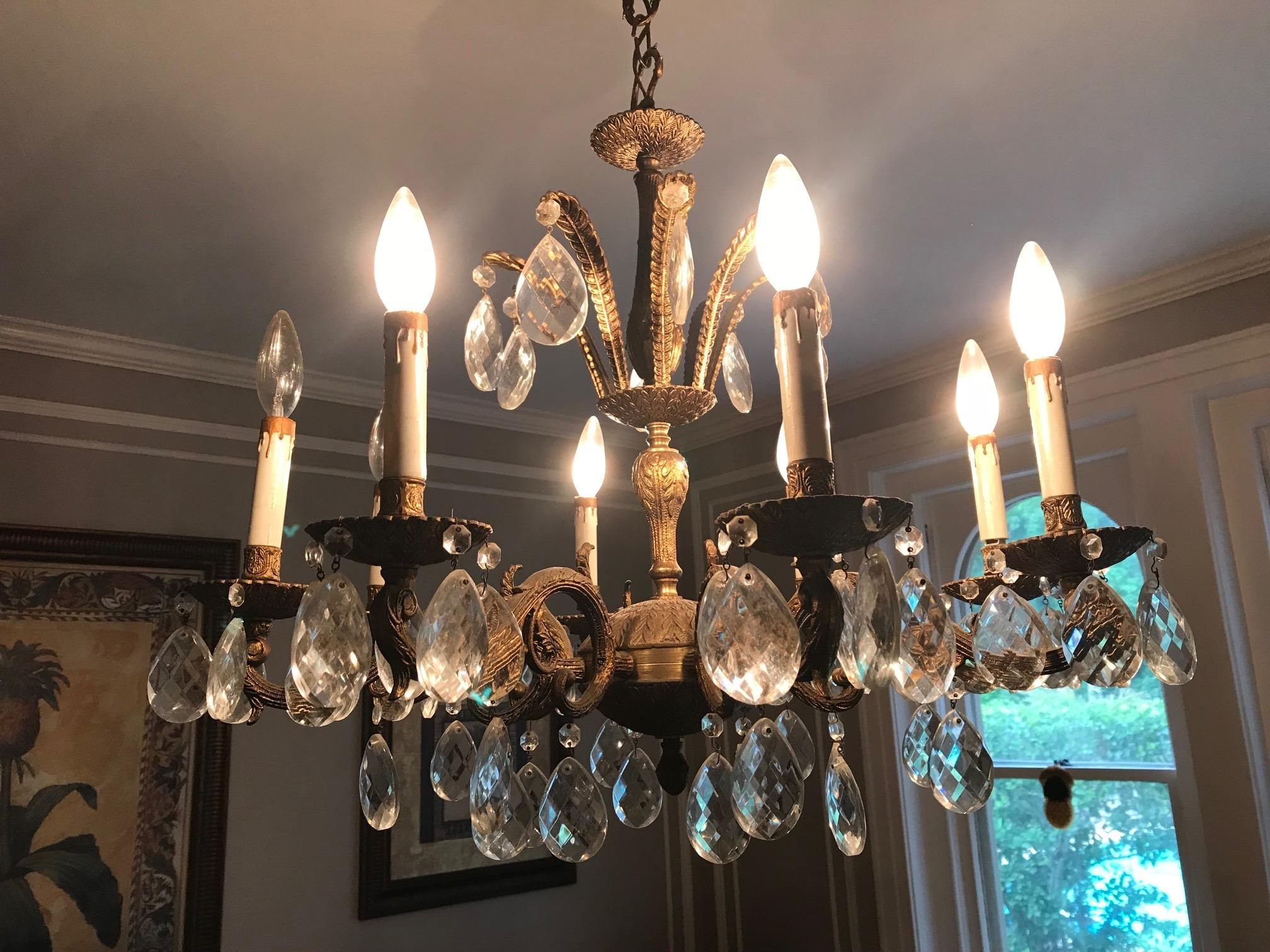 Replace chandelier for dining room