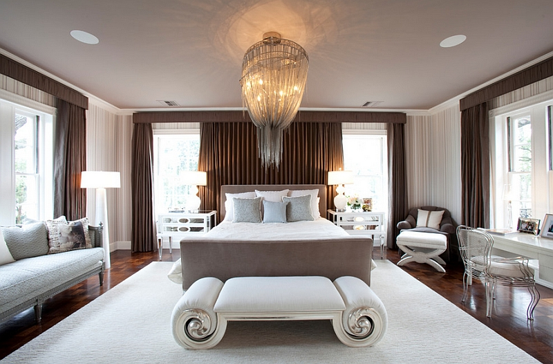 Right chandeliers for the bedroom