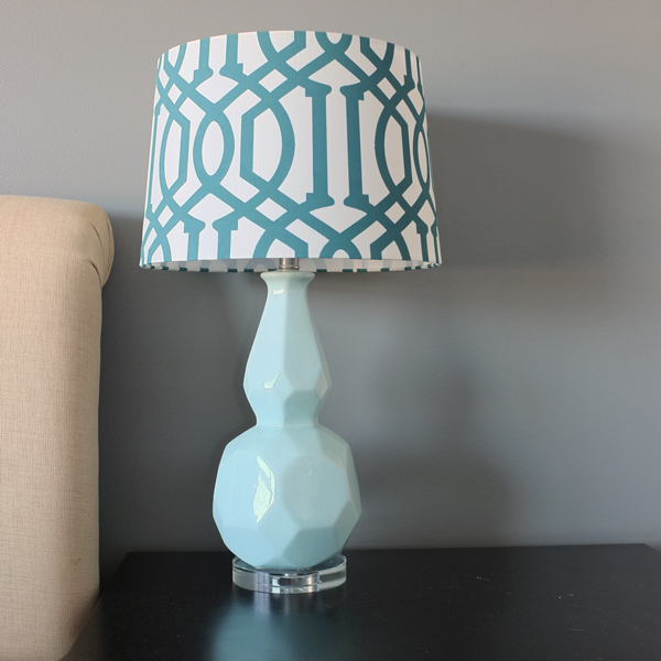 Right with small bedside lamps