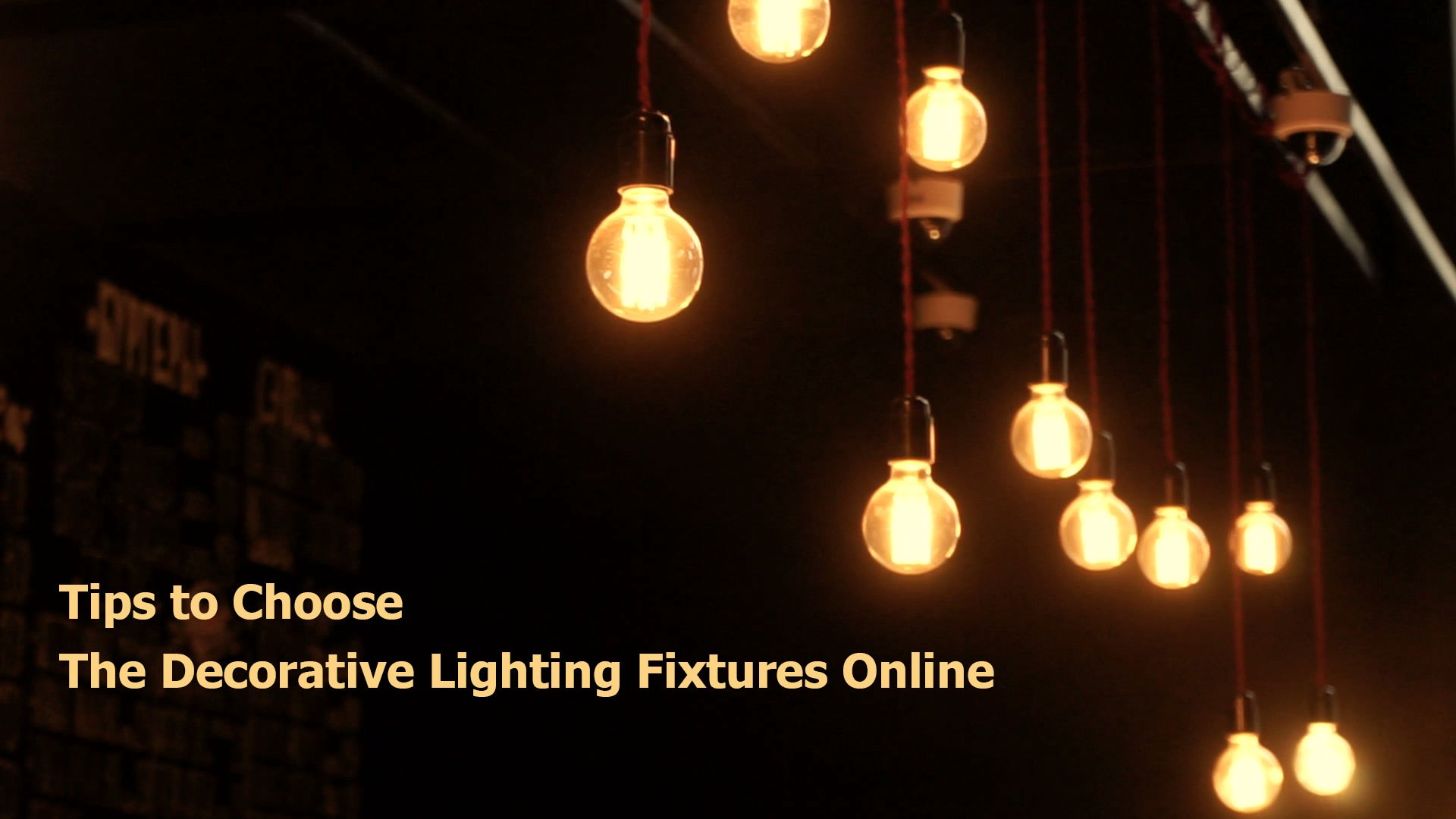 Selection of lighting products