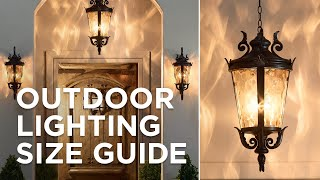 Shopping for outdoor fixtures