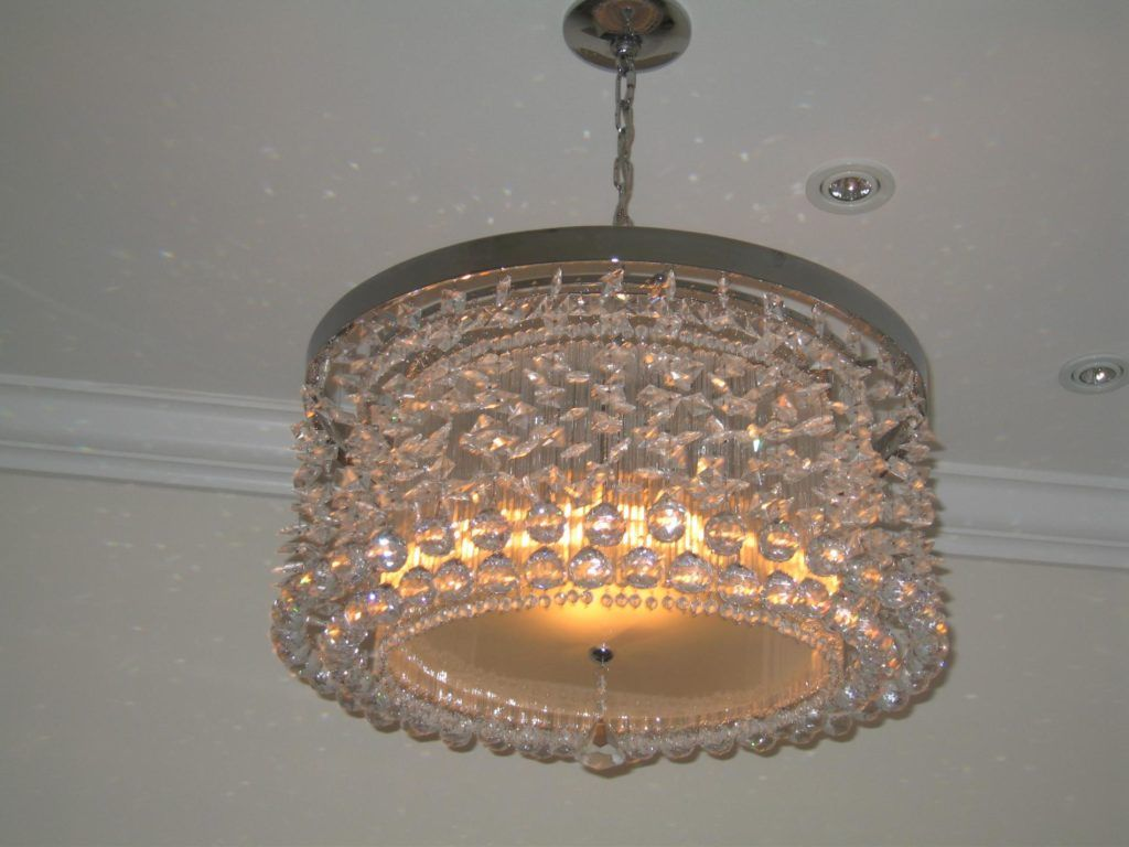 Small chandelier in the home
