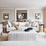 Sophisticated look with white furniture