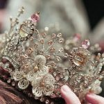 Stunning glass crowns