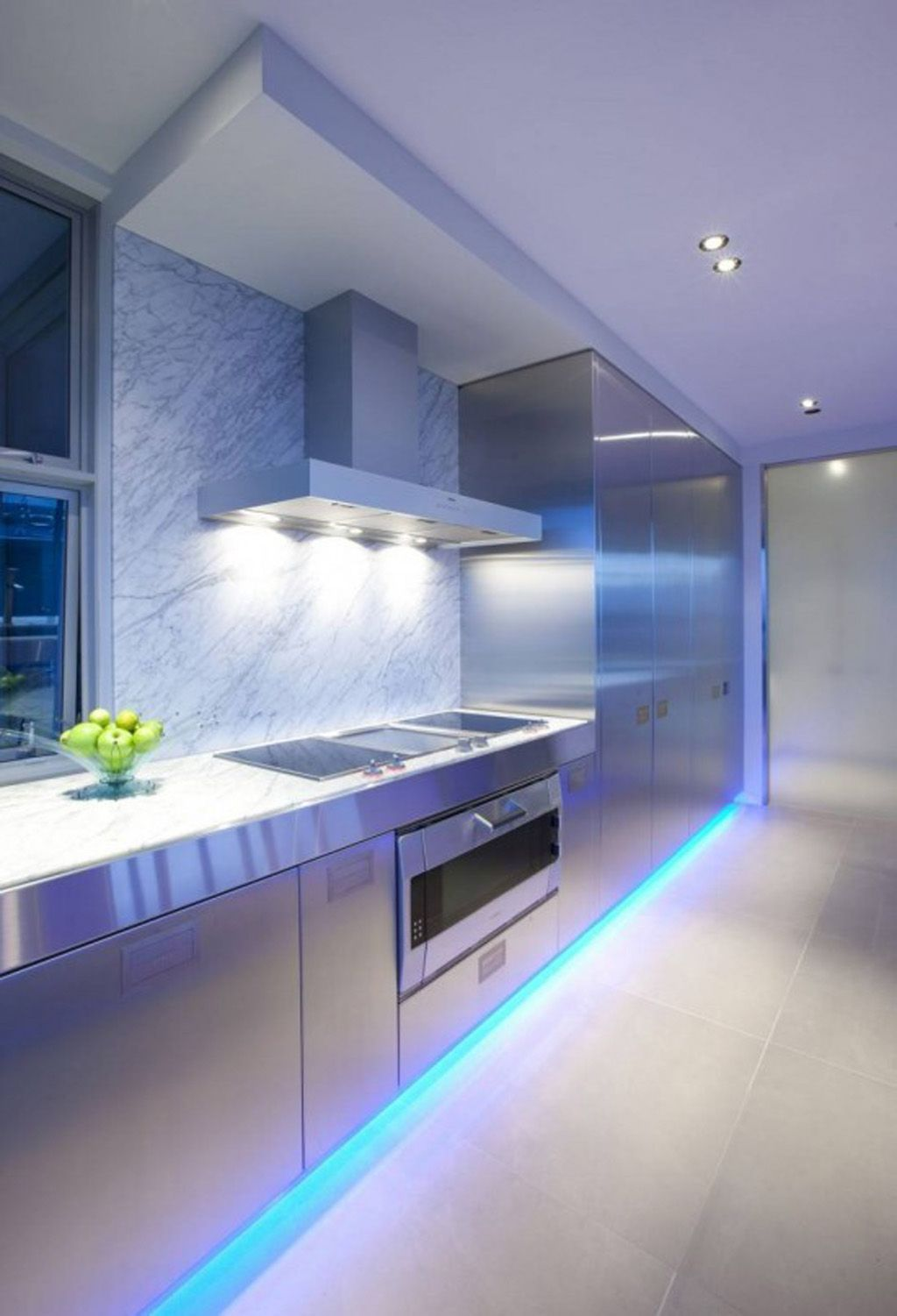 Styling with LED kitchen lights
