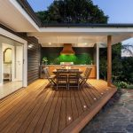 Styling with outdoor deck lighting