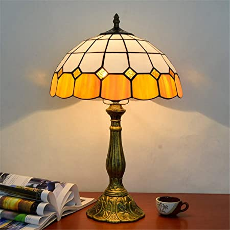 Table lamps in stained glass
