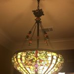 Tiffany chandeliers at home