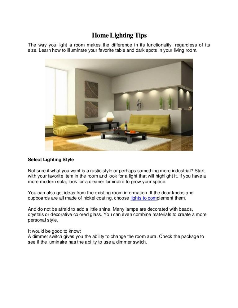 luminaire lighting for the home