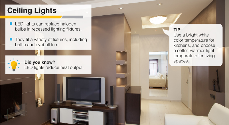 Tips for lighting at home