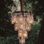 Turn things around with the chandelier