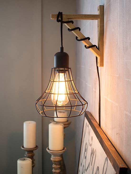 using hanging lighting