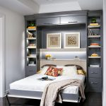 Wall bed or cupboard bed