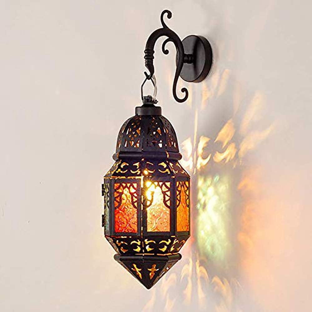 Wall lamps for lanterns – Moroccan sconces, lanterns and lamps