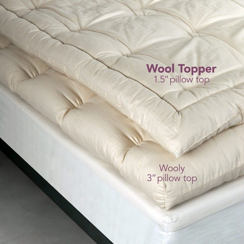 Wool mattress topper a perfect choice