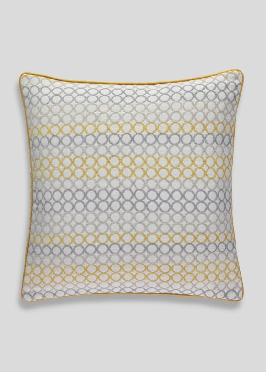 Yellow and gray pillows matalan